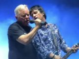 Electronic's Bernard Sumner, Johnny Marr reunite  in Greece to play 'Get the Message'