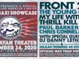 Cold Waves' Wax Trax! Showcase in L.A. to feature Front 242, The Young Gods and more