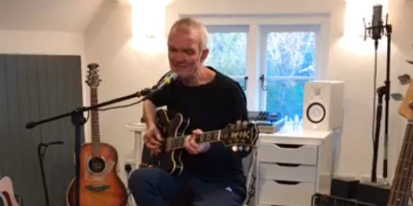 Watch: The House of Love's Guy Chadwick plays 13-song solo set 'live from isolation'