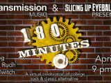Tonight: DJ Jake Rudh's '180 Minutes' live on Twitch — college rock and classic alternative