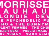Goodbye, Cruel World: Festival with Morrissey, Bauhaus, Blondie, Devo is canceled