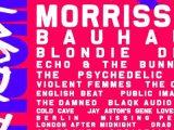 Morrissey, Bauhaus, Blondie, Devo, Echo & The Bunnymen on board for Cruel World 2022