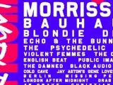 Cruel World festival — featuring Morrissey, Bauhaus, Blondie, Devo — adds 2nd date